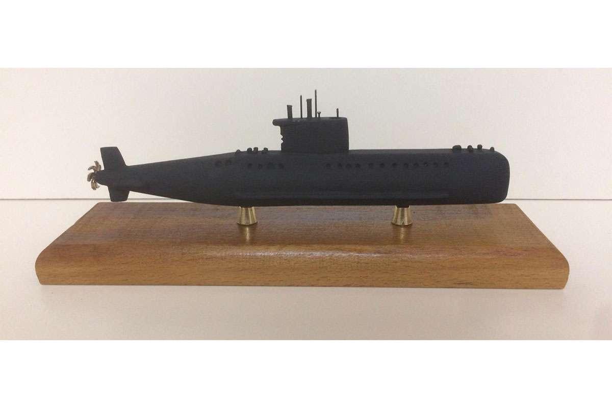 Preveze-Gür Sınıfı Denizaltı Maketi