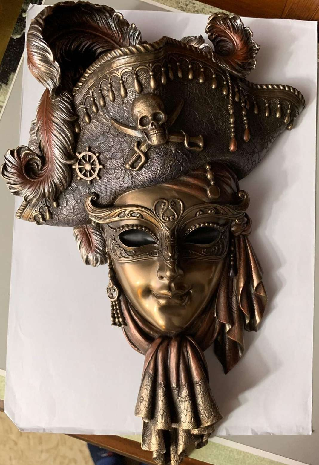 Young Pirate Mask
