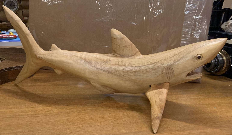 Köpek balığı Ağaç Oyma