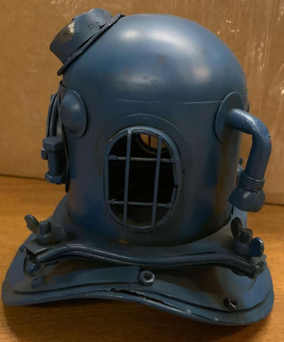 Diver Head 2 Piece Ornament