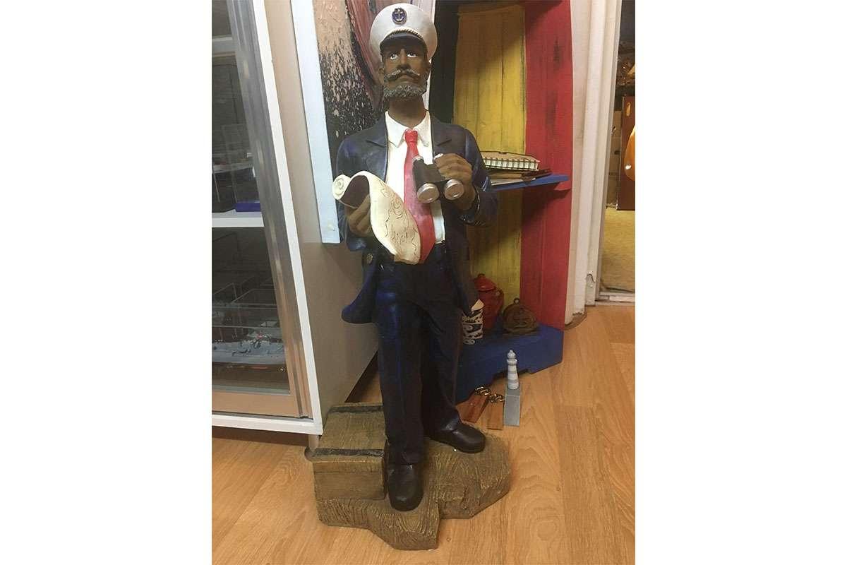 Captain Statue