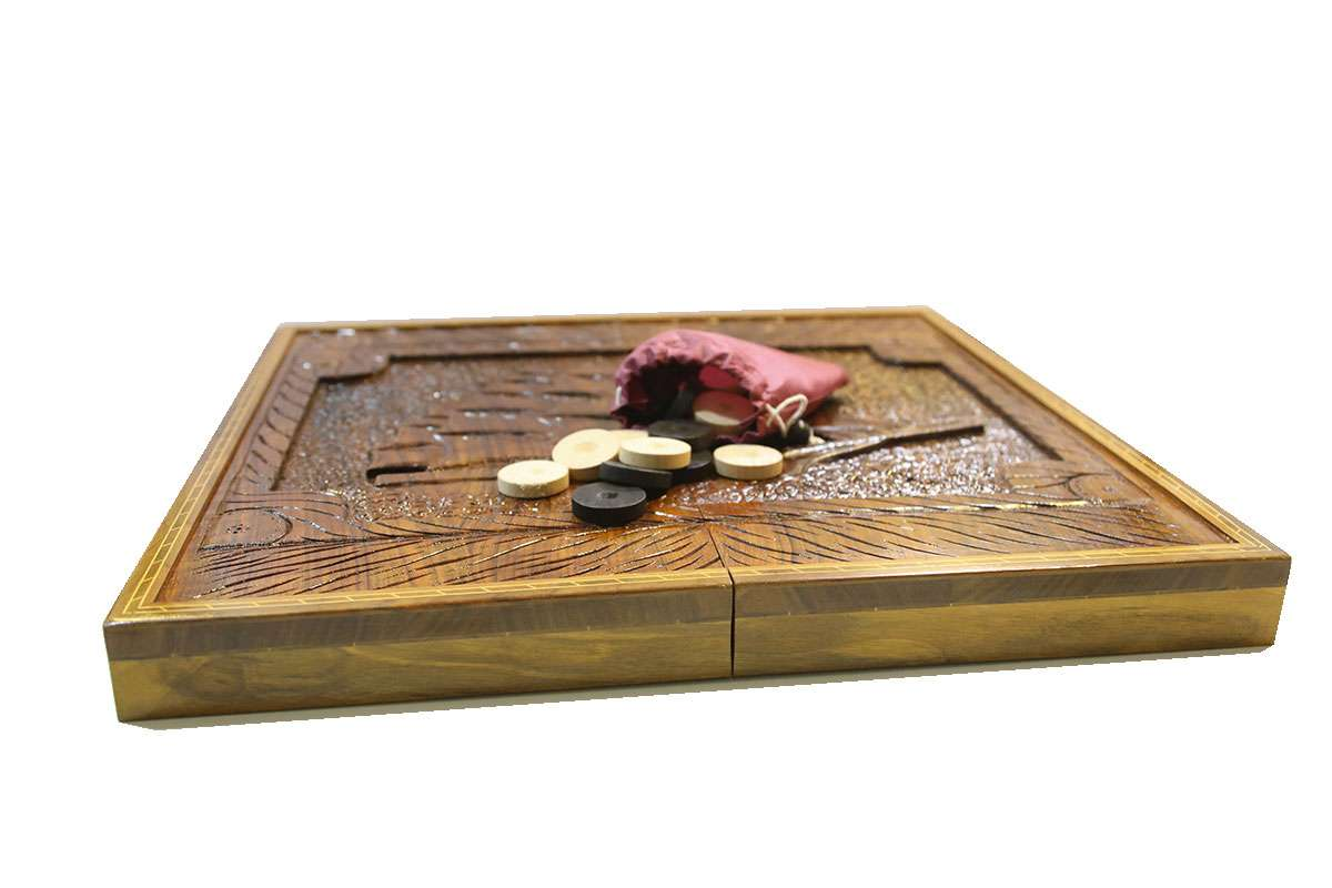 Sail Carved Backgammon Set