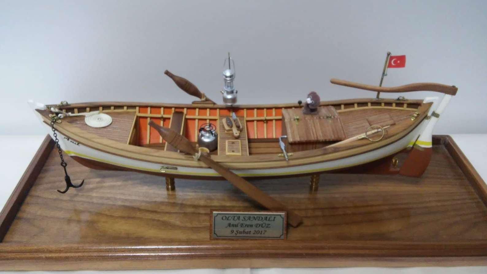 Turkish Fishing Boat Model