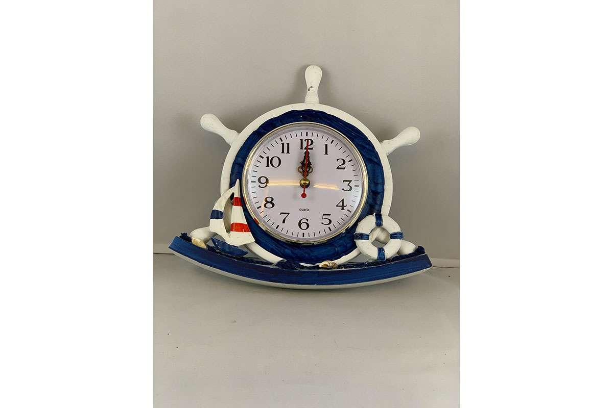 Rudder Table Clock