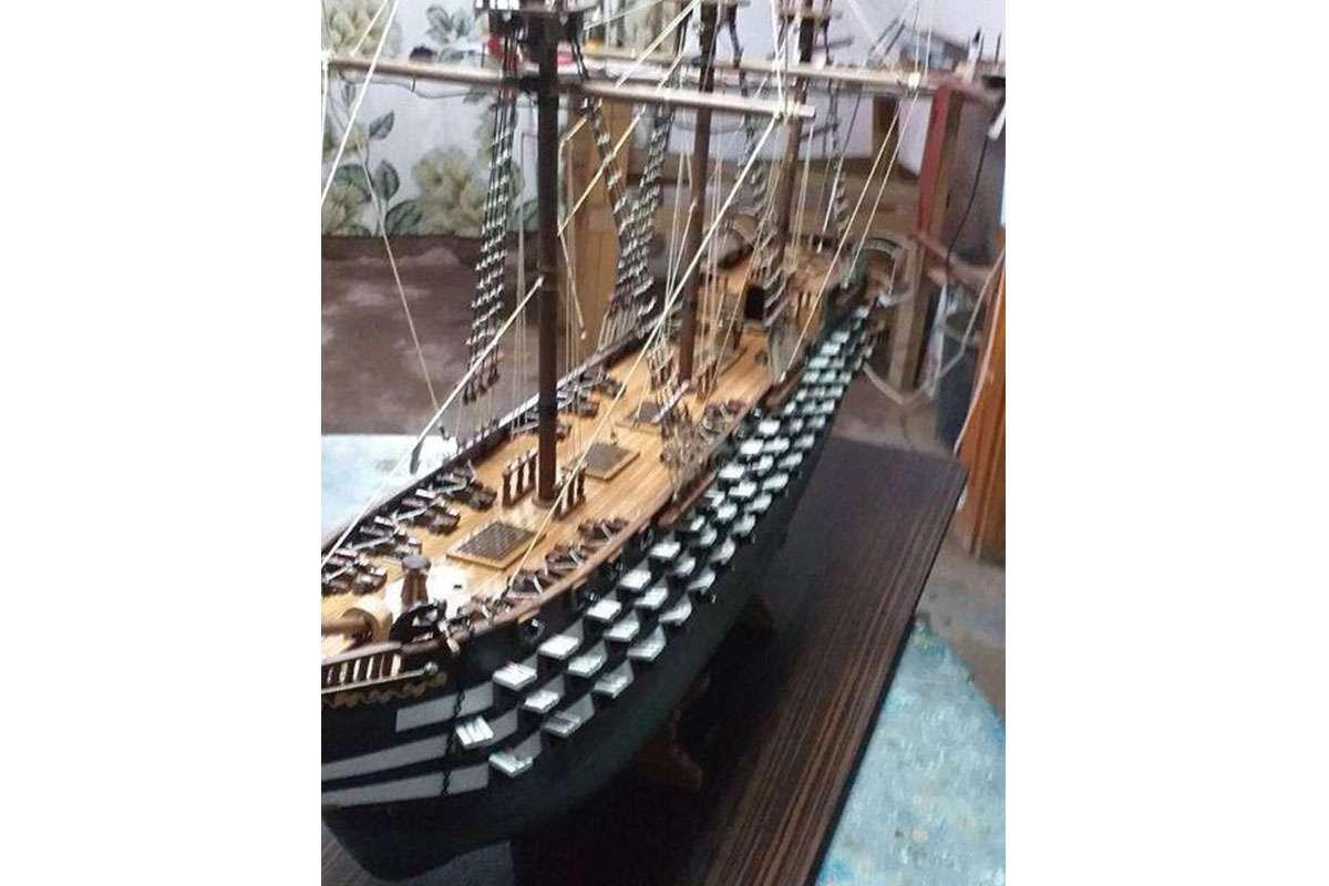 Mahmudiye Savaş Gemisi Maketi