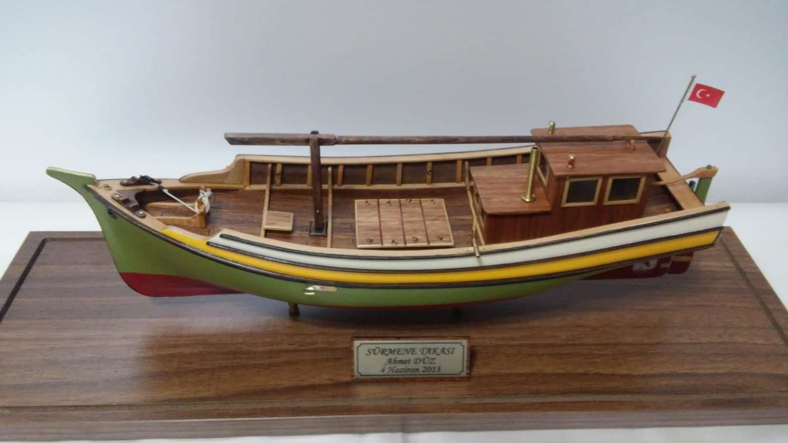 Sürmene Fishing Boat Model