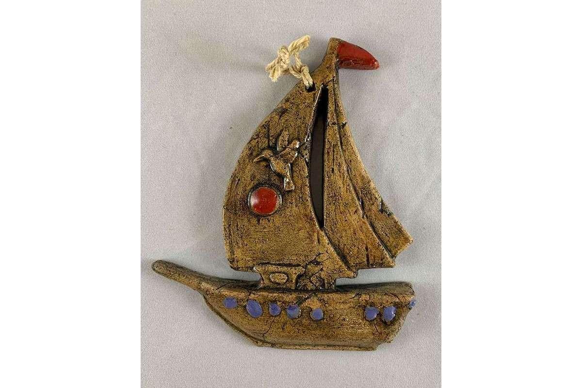 Ceramic Sailing Vessel
