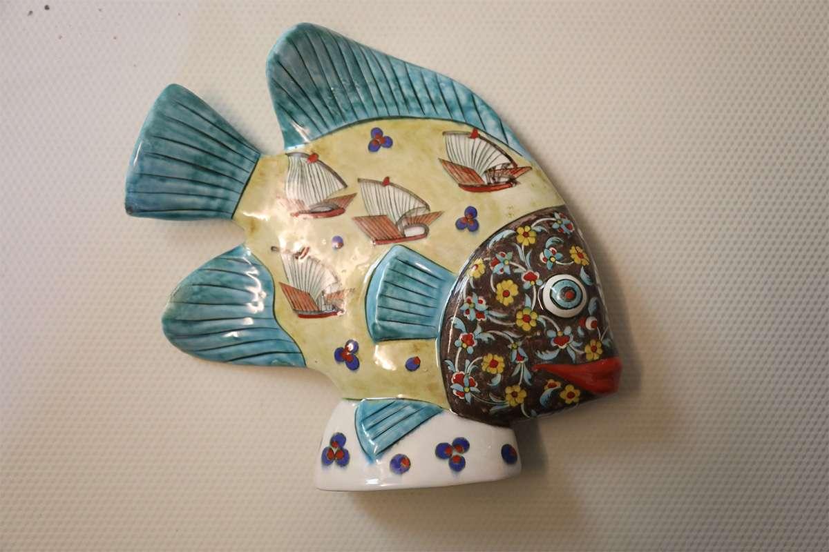 Ceramic Sailing Fish