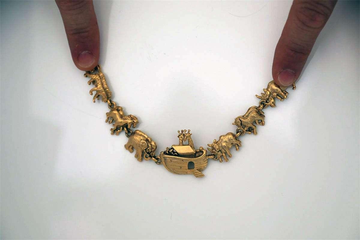 Antique Noah's Ark Bracelet