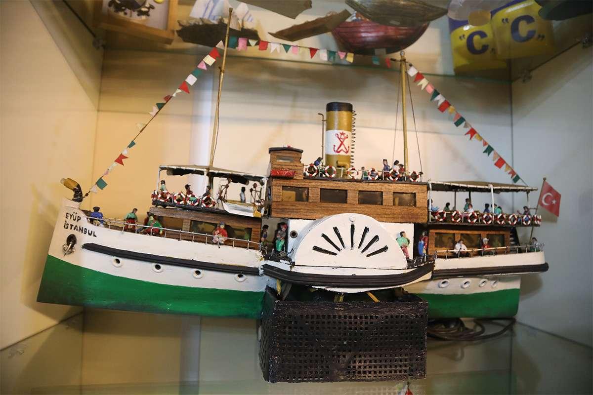 Eyup Side Paddle Ship Model