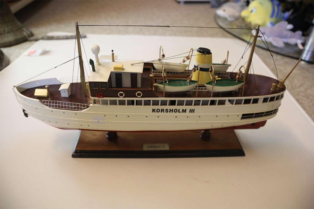 Korsholm III Ship Model