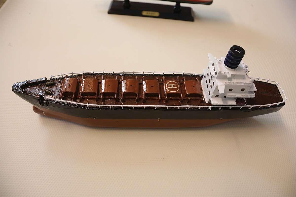 Ahşap El Yapımı Tanker