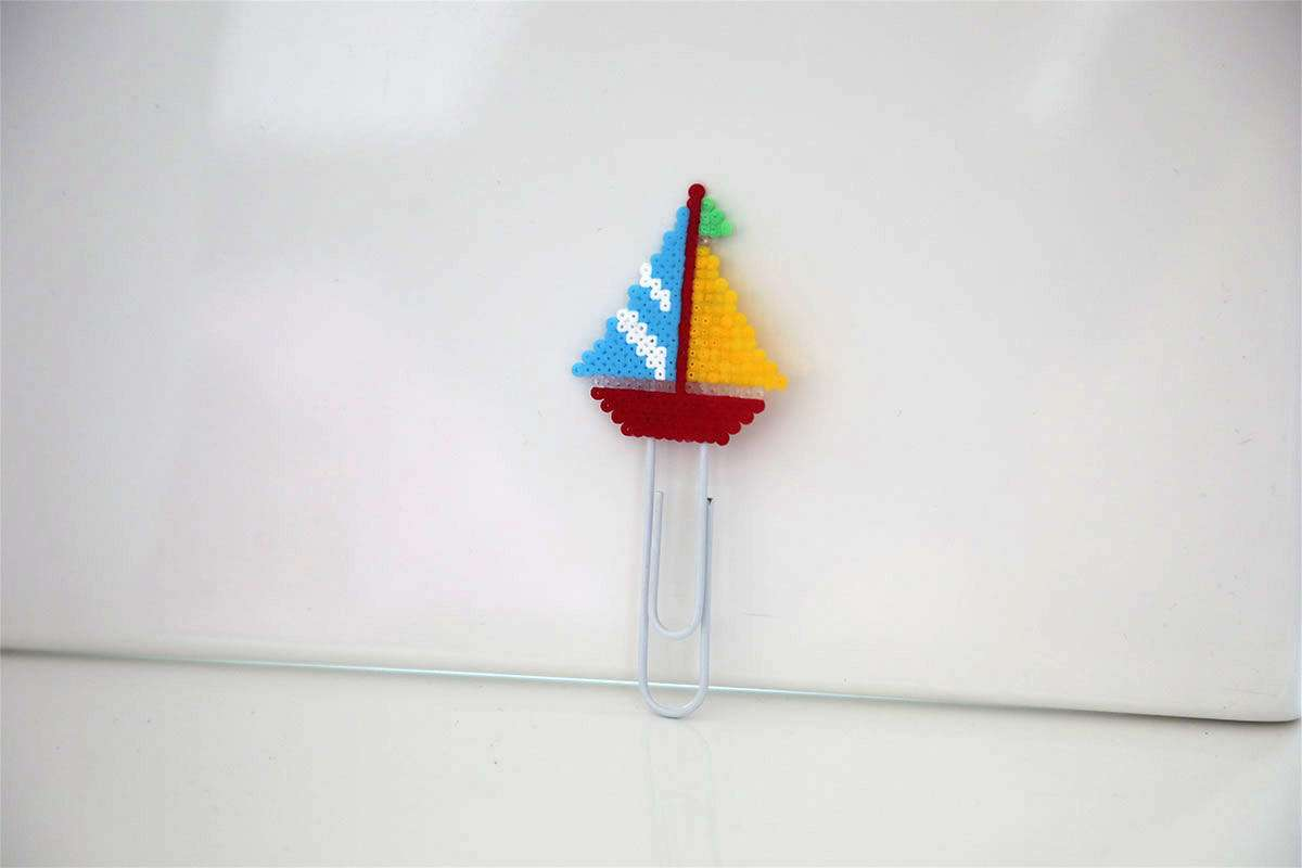 Colorful Sailboat Paper Clips