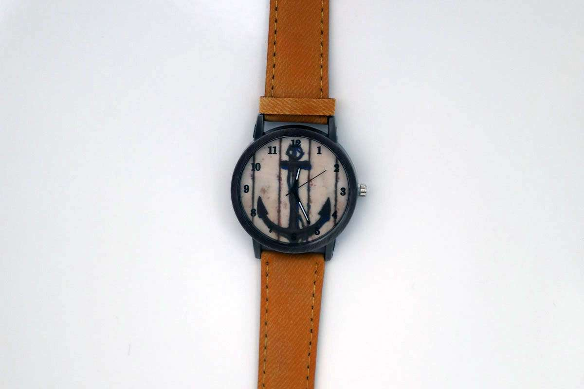 Light Brown Anchor Watch
