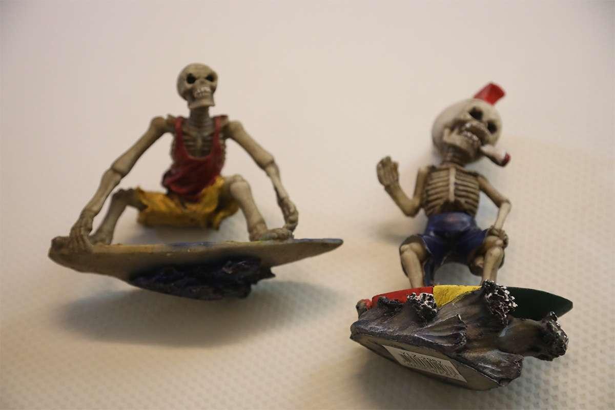 Skull Head Figurines
