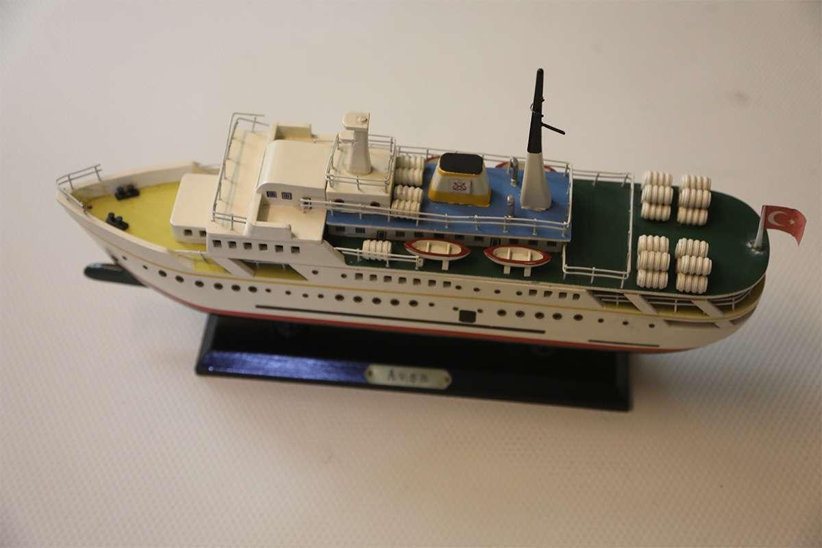 Avsa Ship Model