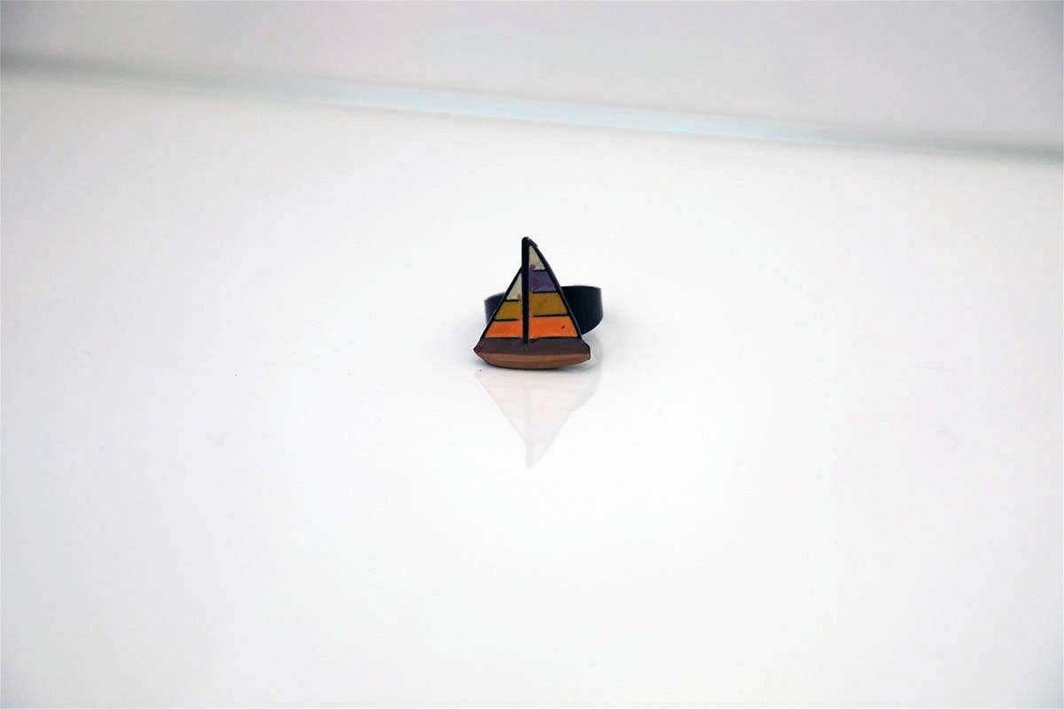Colorful Sailboat Ring
