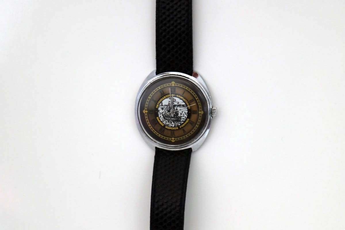 Antique Russian Wind-up Sailing Watch