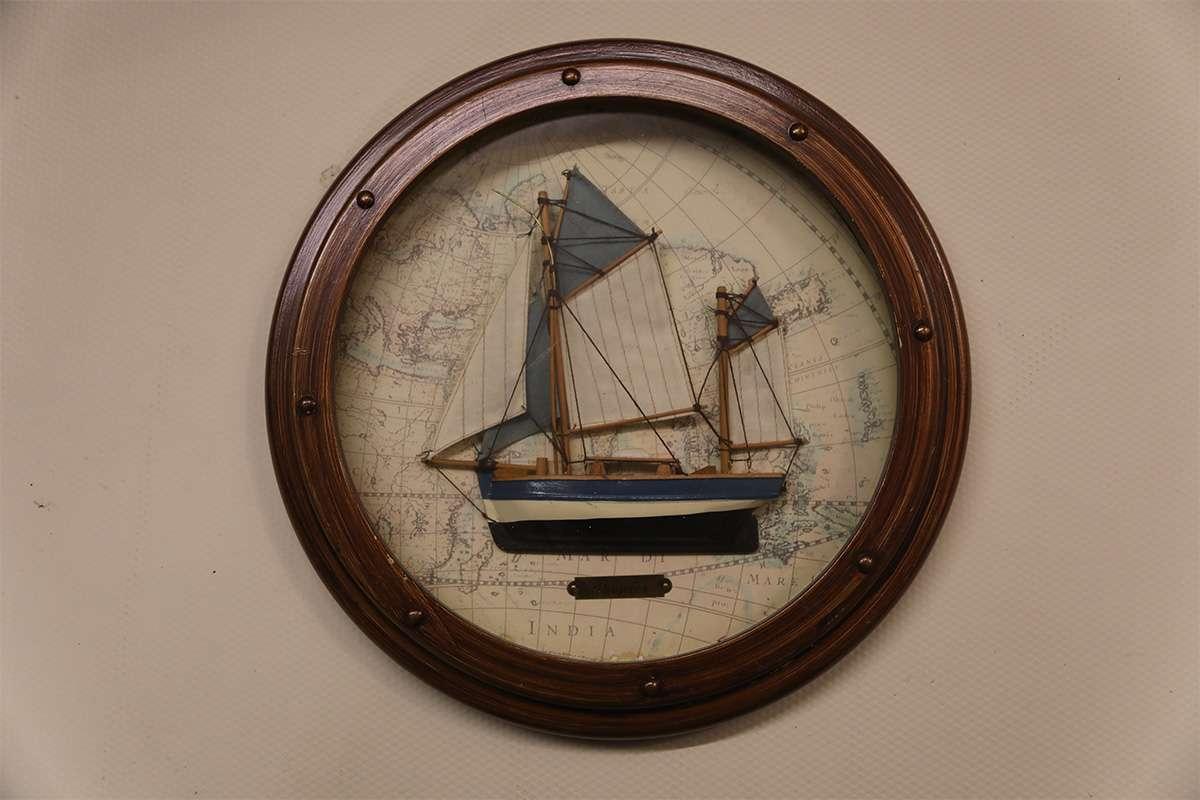 Sailboat Porthole Style Table