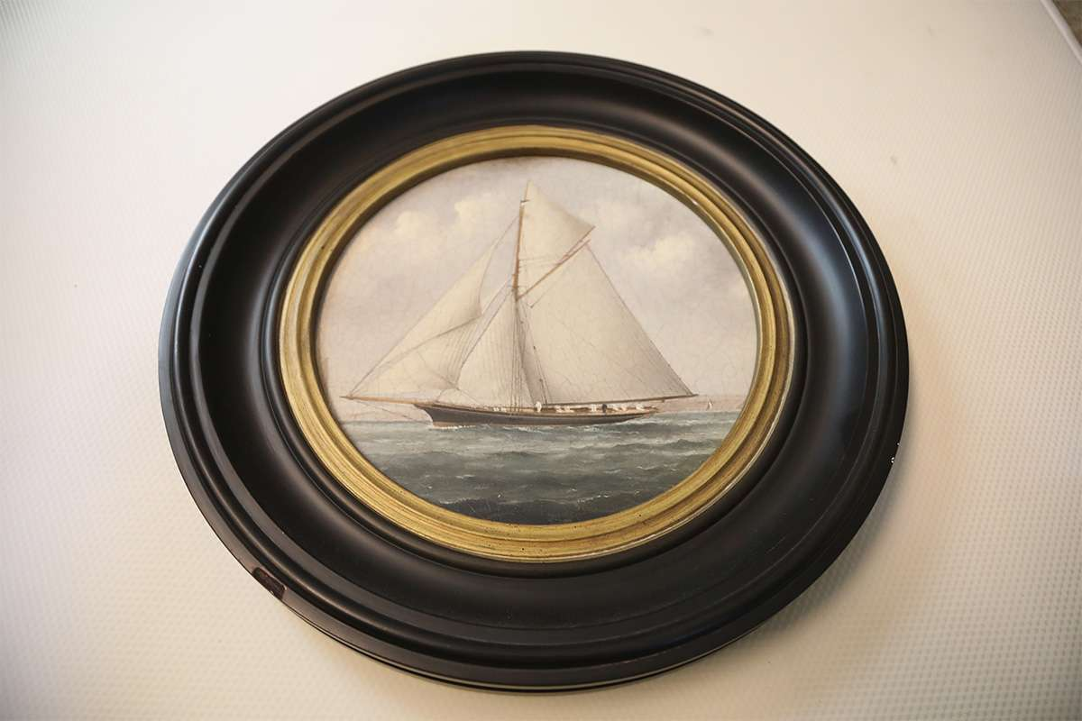Sailboat Round Table