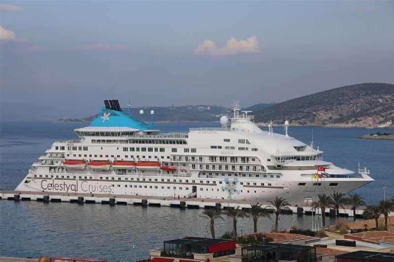 Kusadasi Port Season Opened Early!