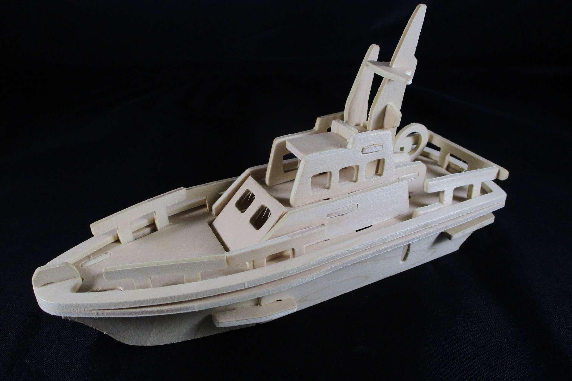 Yacht Ship Model