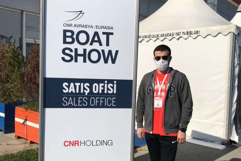 Nautica Goods Team at Eurasia Boat Show 2020