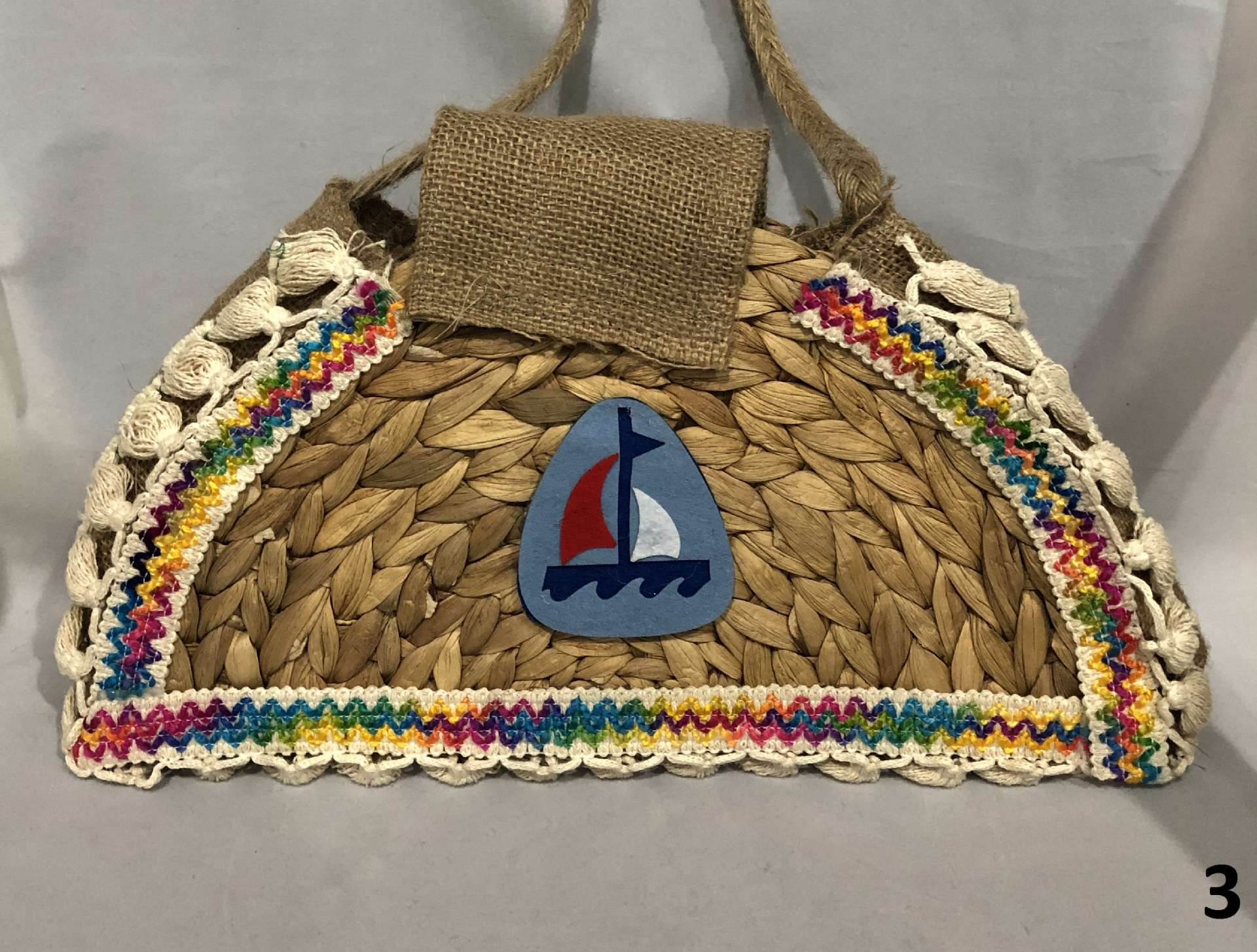 Straw Weave Bag