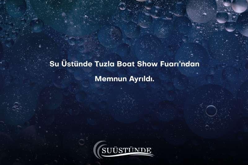 Nautica Goods Satisfied With Tuzla Boat Show Fair