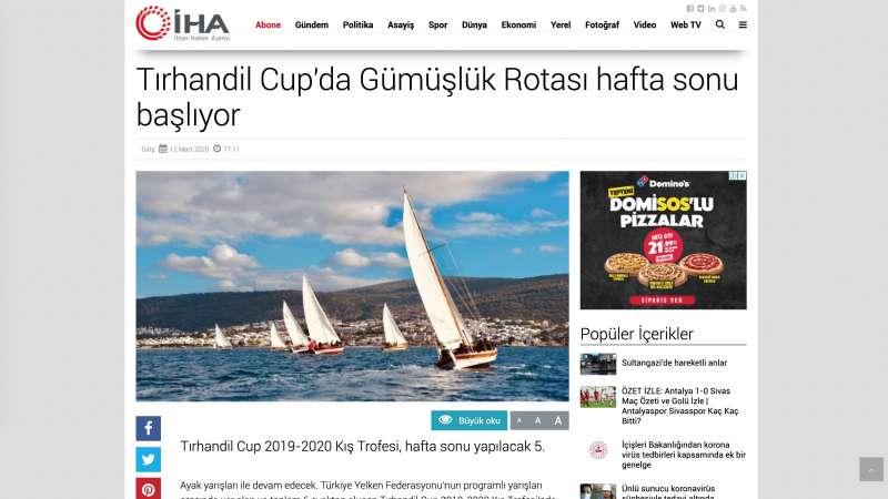 Tırhandil Cup'da Gümüşlük Rotası hafta sonu başlıyor