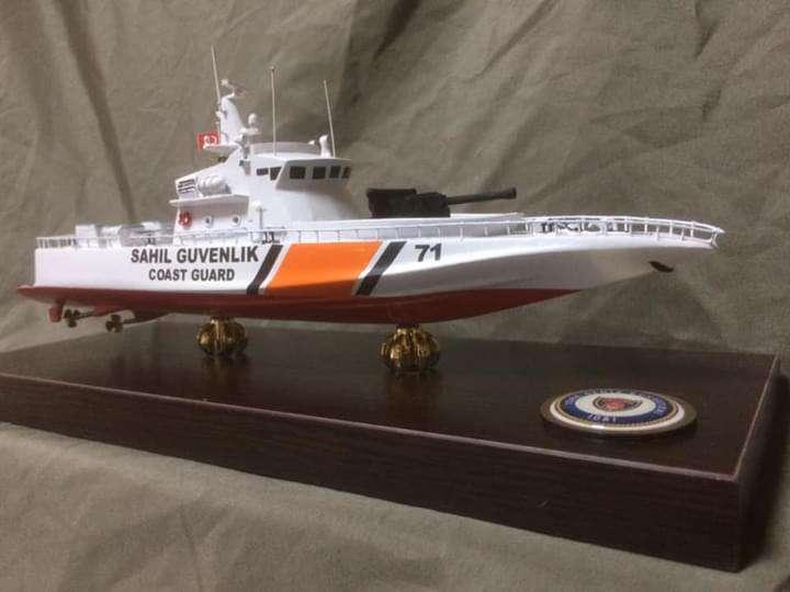 Coast Guard Boat Model