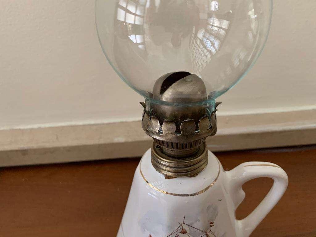 Sailing Porcelain Gas Lamp