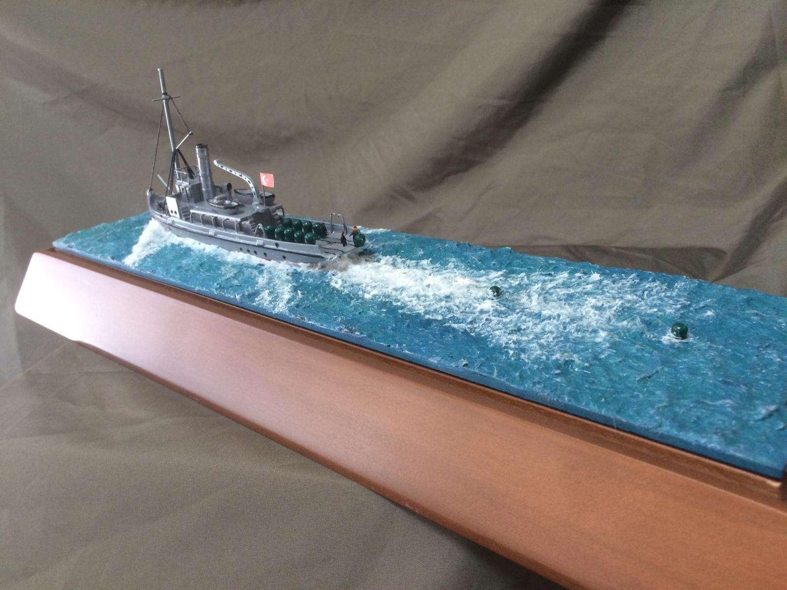 Nusret Mine Ship Model