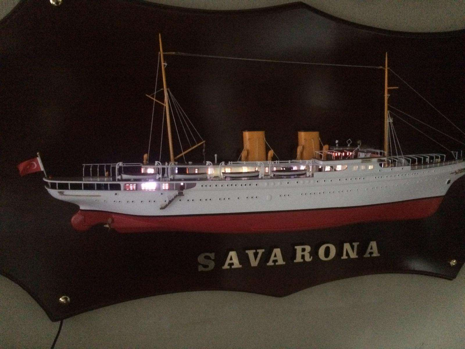 Savarona Section Model Board