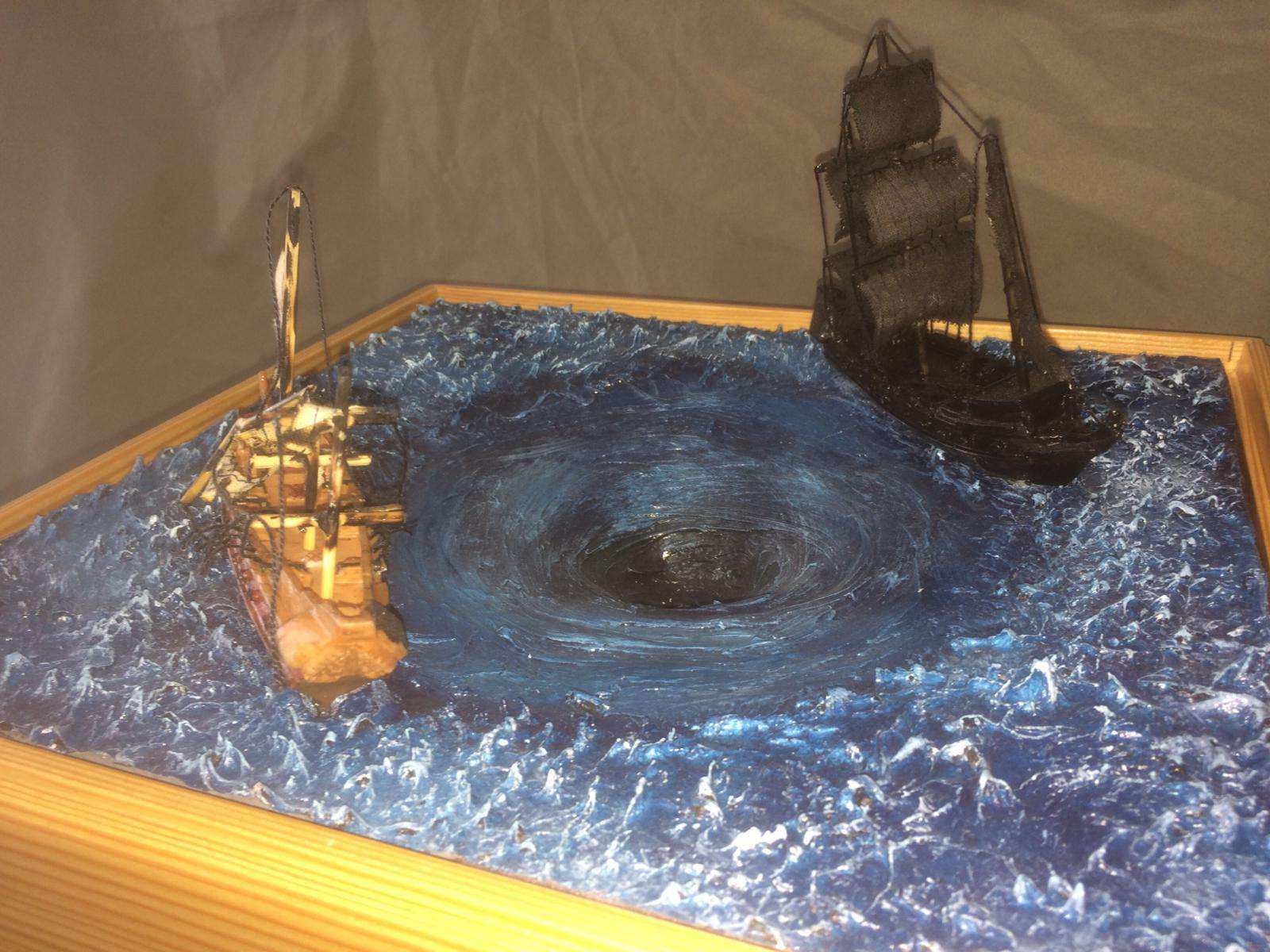 Model of Pirates of the Caribbean