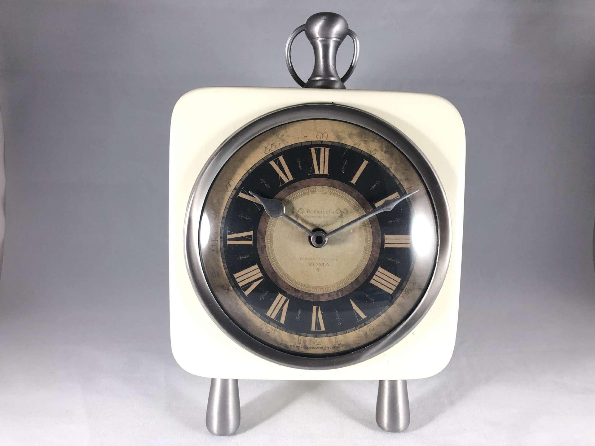 Roman Style Table Clock