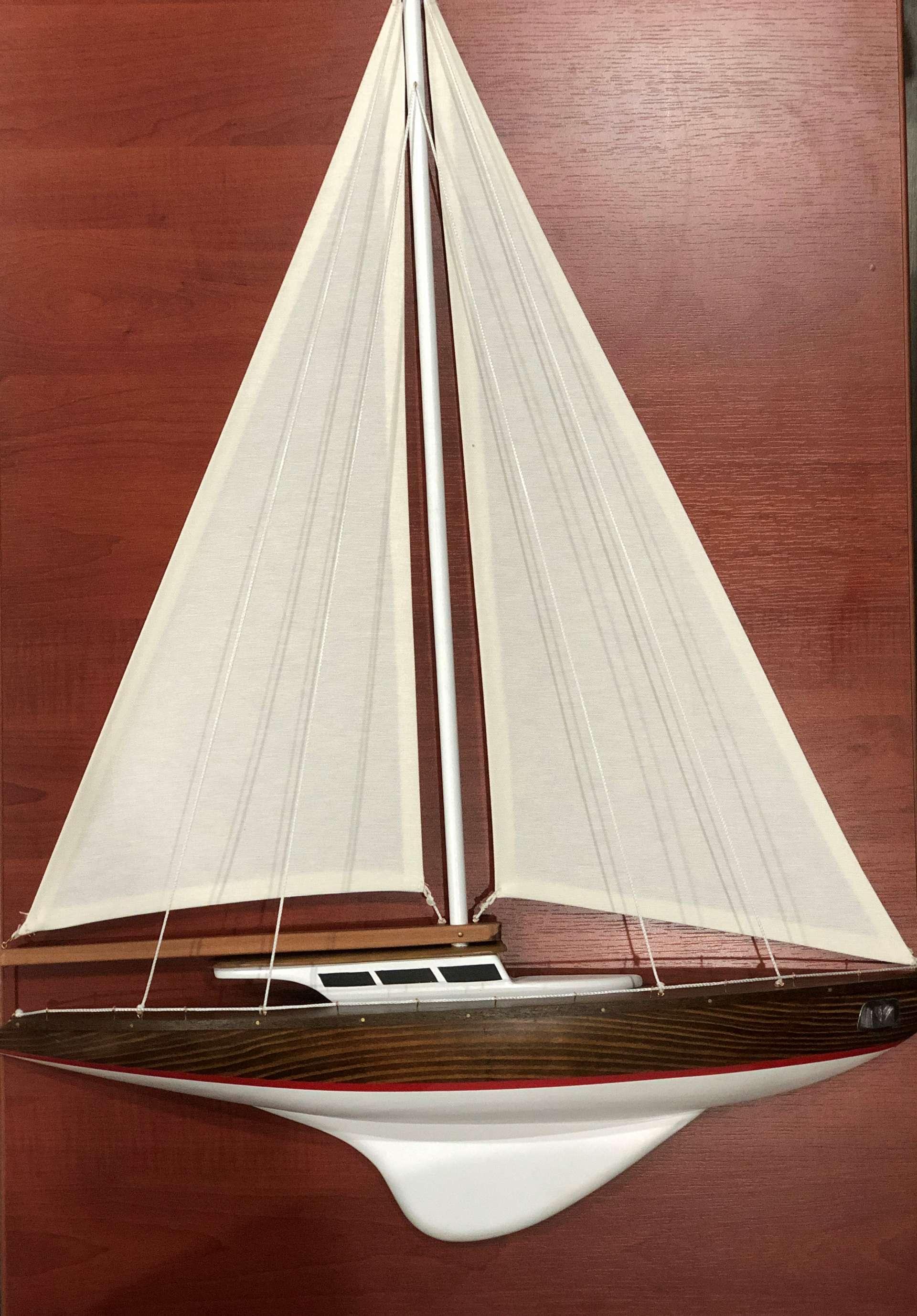 Wall Mountable Sailing Ship Model