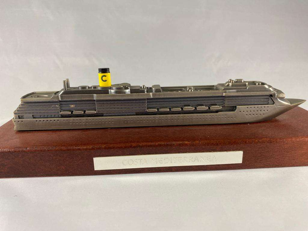Costa Mediterranea Ship Model