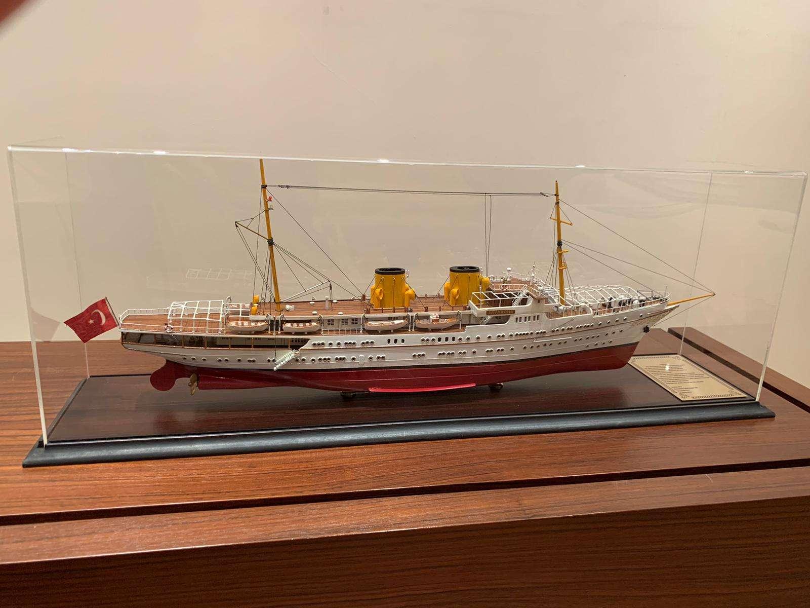 Savarona Yacht Model
