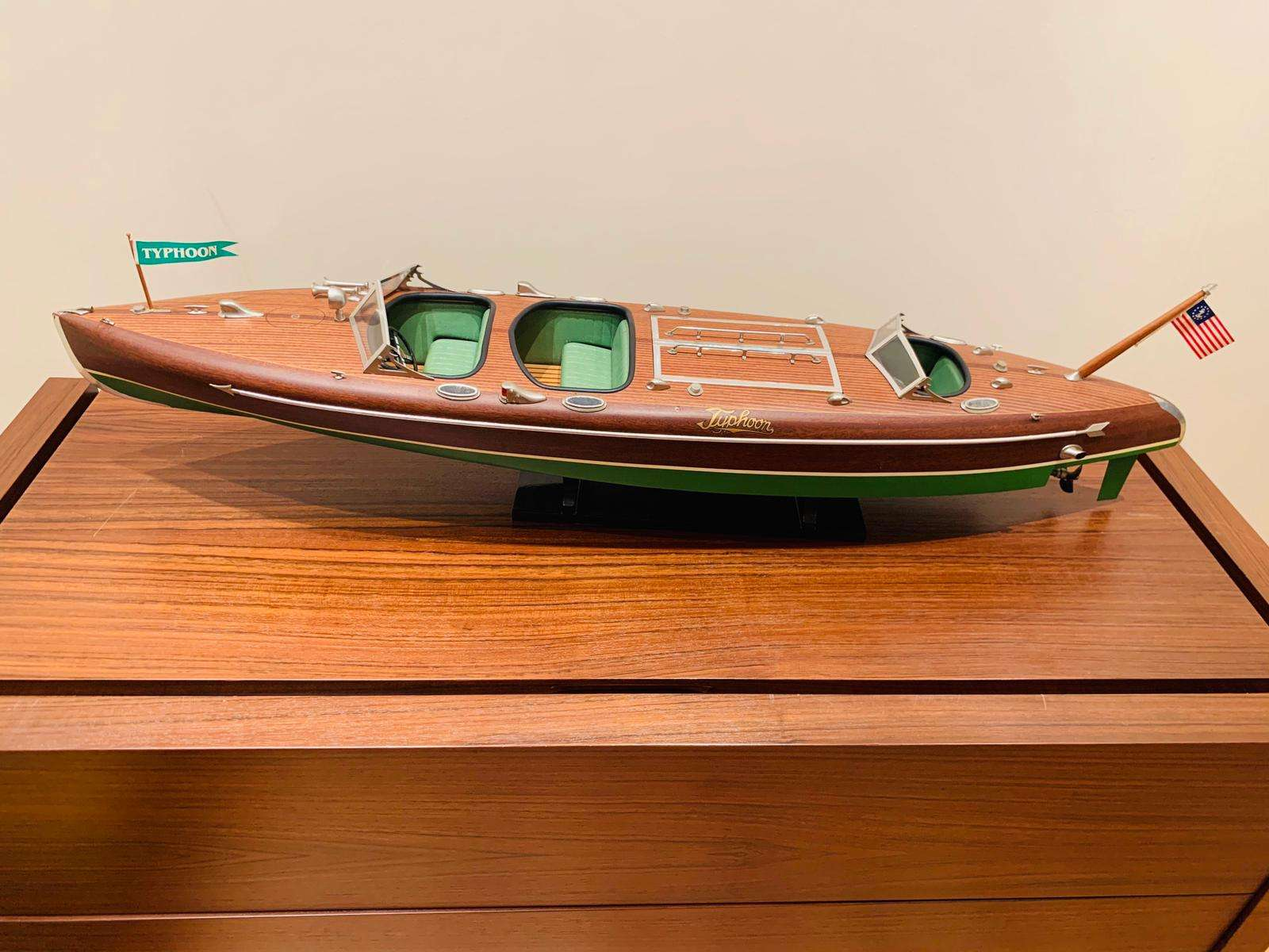 Typhoon Racing Boat Model
