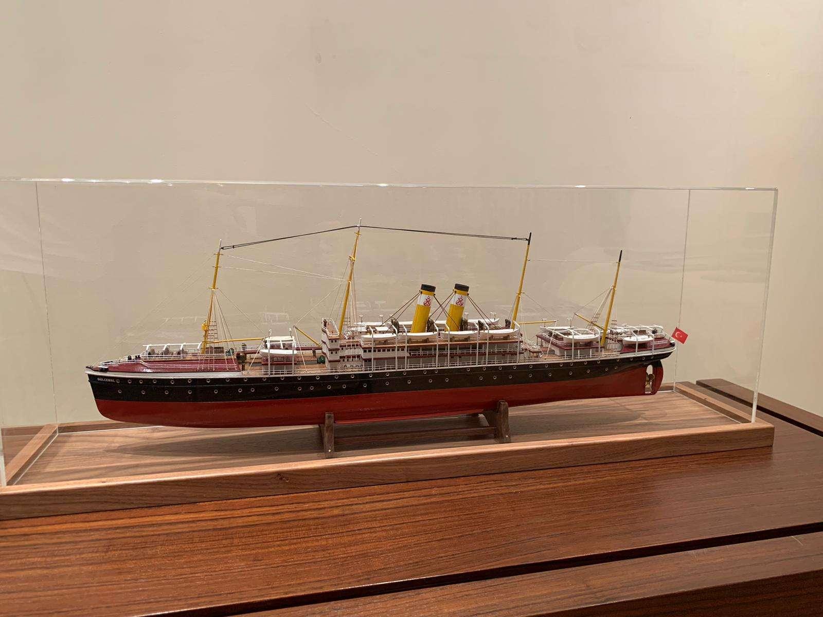 Gülcemal Ship Model