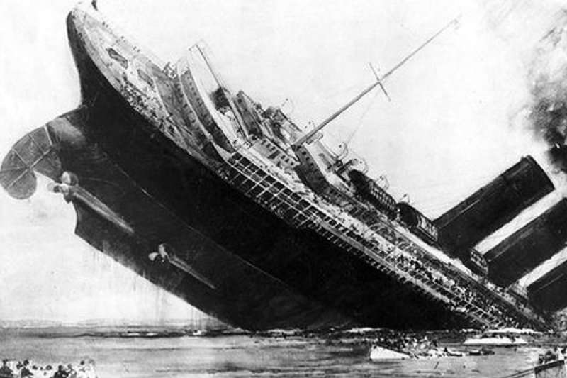 Lusitania Sink