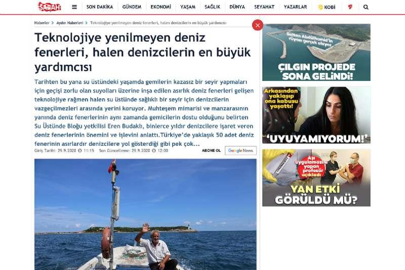 Teknolojiye yenilmeyen deniz fenerleri, halen denizcilerin en büyük yardımcısı