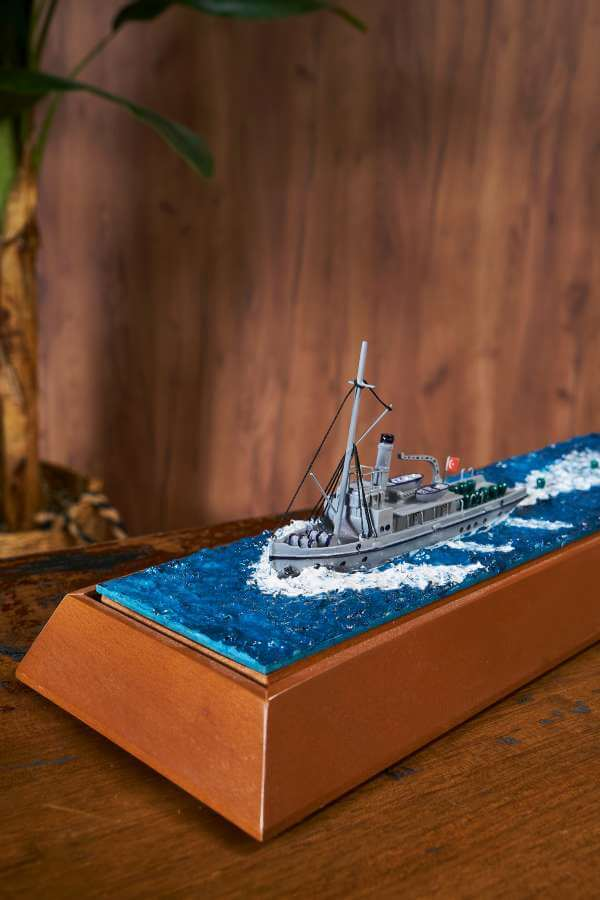 Nusret Mayın Gemisi Maketi