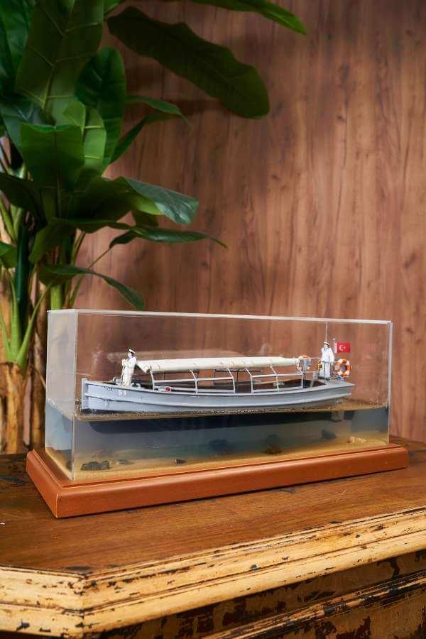Bahriyeli Sandal Gemi Maketi