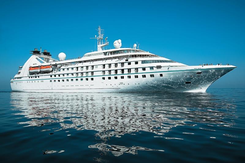 250 Milyon Dolara Uzatılan Windstar Cruises Gemisi Star Pride Kuşadası'nda!