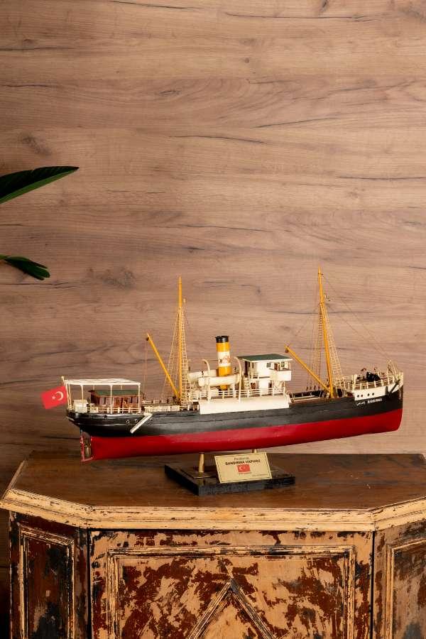 Panderma / Bandırma Vapuru Gemi Maketi