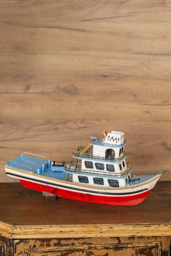 Balıkçı Teknesi Maketi