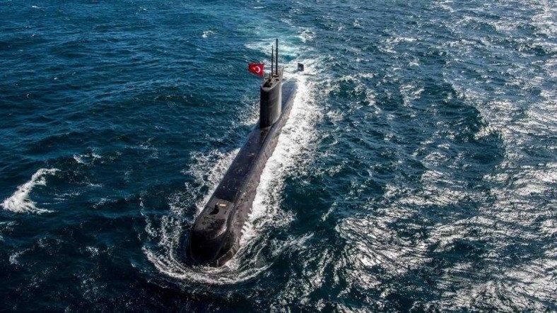 Türk Deniz Kuvvetlerine Ait Denizaltı Gemileri