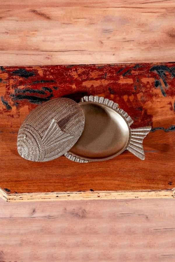 Kapaklı Dekoratif Balık Gövdesi